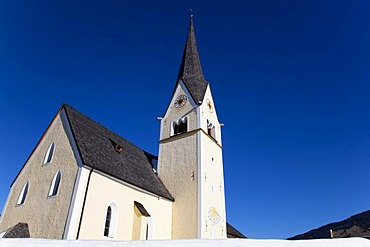 Church in Wagrein, homeland of the poet Waggerl, the song Silent Night was composed here, Pongau, Salzburg, Austria, Europe