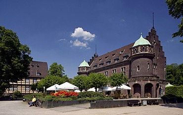 Wittringen Castle, Gladbeck, North Rhine-Westphalia, Germany, Europe