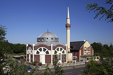 Fatih Mosque, Essen, North Rhine-Westphalia, Germany, Europe