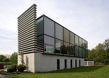 Modern office building, Gelsenkirchen, Ruhr Area, North Rhine-Westphalia, Germany, Europe