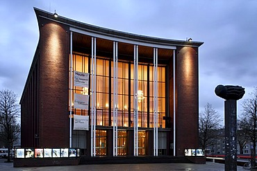 Schauspielhaus, theatre, Bochum, Ruhr Area, North Rhine-Westphalia, Germany, Europe