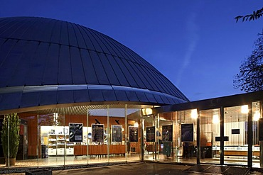 Zeiss-Planetarium, Bochum, Ruhr Area, North Rhine-Westphalia, Germany, Europe