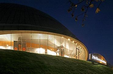 Zeiss-Planetarium, Bochum, Ruhr Area, North Rhine-Westphalia, Germany, Europe