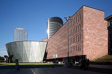 City and state library, Dortmund, Ruhr Area, North Rhine-Westphalia, Germany, Europe