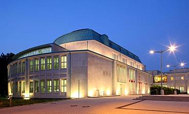 Roofed hall, philharmonic hall, Essen, Ruhr Area, North Rhine-Westphalia, Germany, Europe