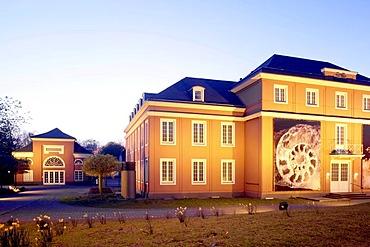 Schloss Oberhausen castle, Ludwig Galerie art gallery, Ruhr district, North Rhine-Westphalia, Germany, Europe