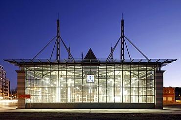 U-Bahnhof Westentor underground railway station, Dortmund, Ruhr district, North Rhine-Westphalia, Germany, Europe