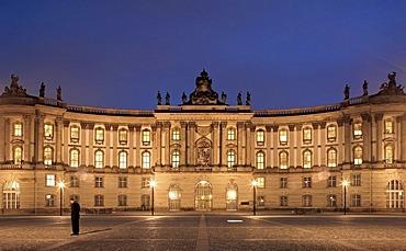 Humboldt University of Berlin, former Royal Library, Bebelplatz square, Unter den Linden boulevard, Mitte, Berlin, Germany, Europe