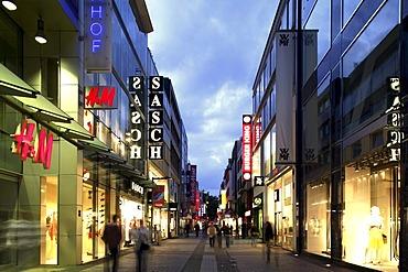 Hohe Strasse, High Street, Cologne, North Rhine-Westphalia, Germany, Europe