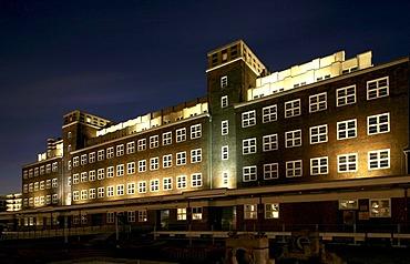 Rhenish industrial museum, Peter-Behrens storehouse, Oberhausen, Ruhr area, North Rhine-Westphalia, Germany, Europe