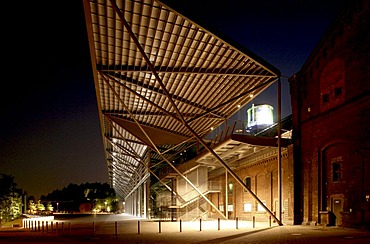 Jahrhunderthalle hall in the Westpark park, Bochum, Ruhr area, North Rhine-Westphalia, Germany, Europe