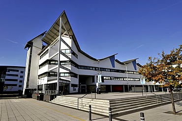 The University of East London Campus on the banks of The Old Royal Docks, London, United Kingdom, Europe