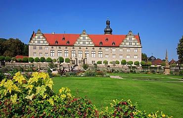 Weikersheim Castle, Baden-Wuerttemberg, Germany, Europe