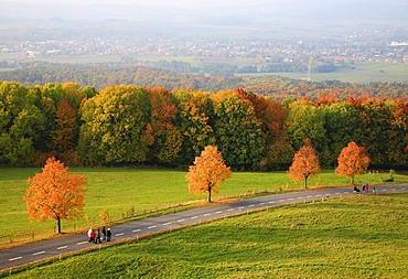Autumn landscape in Upper Franconia, Bavaria, Germany, Europe