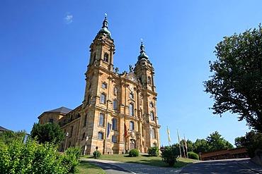 Vierzehnheiligen Basilica near Bad Staffelstein in Lichtenfels region, Upper Franconia, Bavaria, Germany, Europe