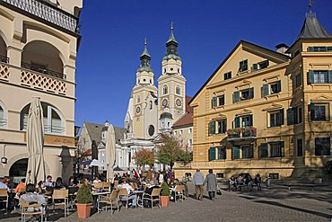 Brixen Cathedral, Brixen, South Tyrol, Italy, Europe