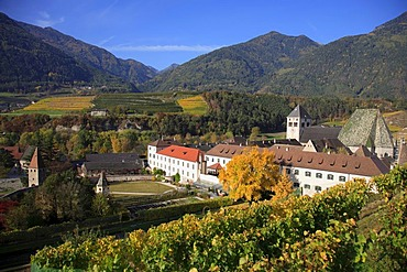 Neustift Monastery in Neustift near Brixen, Vahrn municipality in Bolzano-Bozen, Italy, Europe