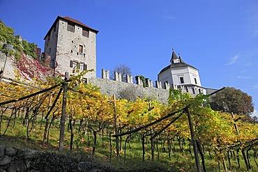 Saeben Monastery near Klausen, Bolzano-Bozen, Italy, Europe