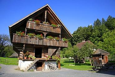 Ballenberg open air museum, Bernese Oberland, Switzerland, Europe