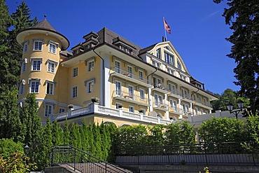 Grand Hotel Bellevue in Gstaad, Bernese Oberland, Switzerland, Europe