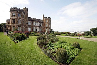 Mount Edgcumbe House, Plymouth, Cornwall, South England, Great Britain, Europe