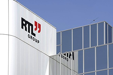 Headquarters and broadcasting centre of the RTL Group, Radio Television Luxembourg, in Luxembourg, Europe