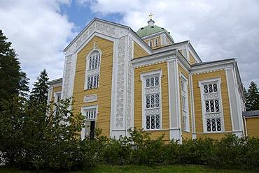 World's largest wooden church in Kerimaeki, Finland, Europe