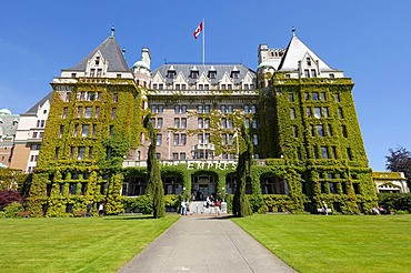 Empress Hotel in Victoria, Vancouver Island, British Columbia, Canada