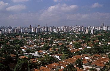 Sao Paulo skyline, Brazil, South America