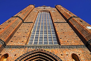 Historic St. George's Church in the Old Town of Wismar, UNESCO World Heritage Site, Mecklenburg-Western Pomerania, Germany, Europe