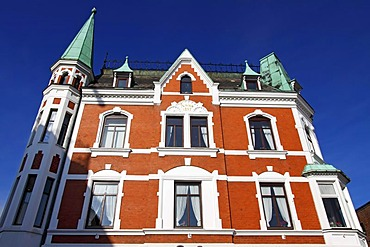 Historic house, historic town centre, Baltic Sea seaside resort town of Eckernfoerde, Rendsburg-Eckernfoerde district, Schleswig-Holstein, Germany, Europe