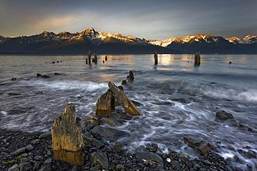 Seward, Resurrection Bay, South Coast, Alaska, USA, North America