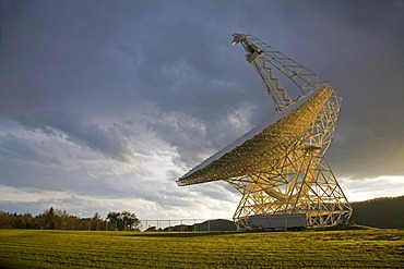 The Robert C Byrd Green Bank Telescope at the National Radio Astronomy Observatory, Green Bank, West Virginia, USA