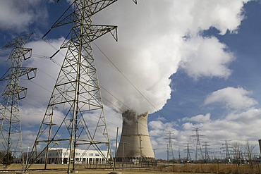 The Davis-Besse Nuclear Power Station, east of Toledo, Oak Harbor, Ohio, USA
