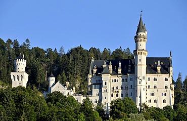 Neuschwanstein Castle, Allgaeu, Bavaria, Germany, Europe