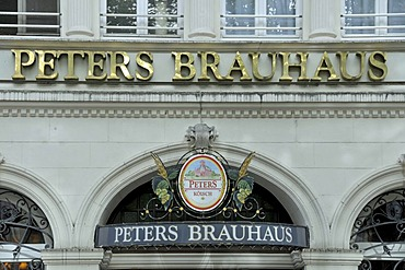 Peters Brauhaus, brewery, Alter Markt, old market, historic centre of Cologne, North Rhine-Westphalia, Germany, Europe