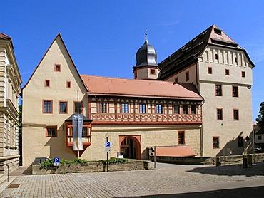 Kaiserpfalz Museum, prince-bishopís palace, Forchheim, Upper Franconia, Bavaria, Germany, Europe