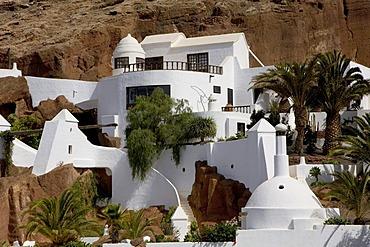 The Cesar Manrique designed house called Lagomar, Nazaret, Lanzarote, Canary Islands, Spain, Europe