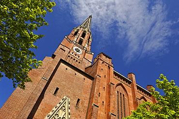 Maria-Hilf-Kirche Church at the Auer Dult Market, Munich, Bavaria, Germany, Europe