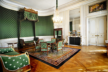 A room in Schloss Nymphenburg Palace, Munich, Bavaria, Germany, Europe