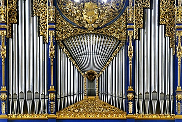 Organ in the cathedral church in Innsbruck