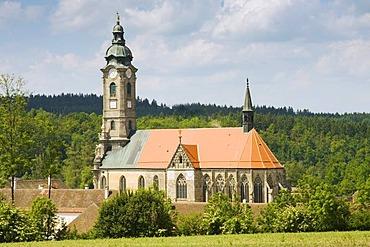 Convent Zwettl, Waldviertel Region, Lower Austria, Austria