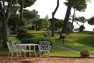 Hotel Park of Santa Margherita di Pula, Sardinia, Italy