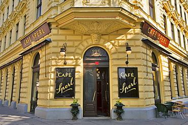 Cafe Sperl, traditional Viennese cafe, Vienna, Austria, Europe