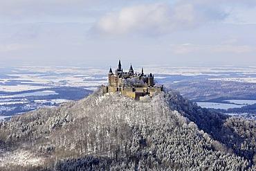 Castle Hohenzollern, Hechingen, Baden Wuerttemberg, Germany
