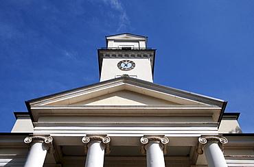 Classical church designed by Leo von Klenze, Rinnthal, Palatinate region, Rhineland-Palatinate, Germany, Europe