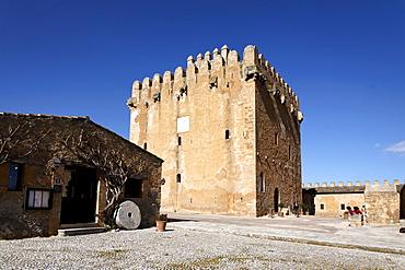 Torre de Canyamel tower, landmark of Majorca, Balearic Islands, Spain