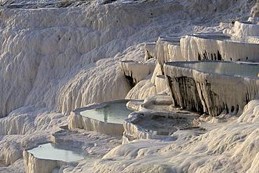 Travertine terraces of Pamukkale, Turkey