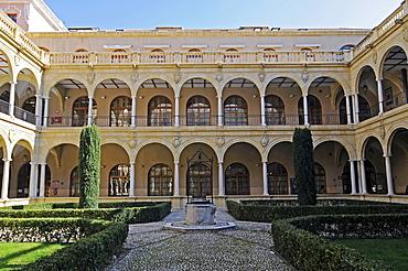 Cross-coat, university in Murcia, Spain, Europe