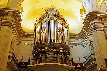 Organ, Santa Maria Basilica, Elche, Elx, Alicante, Costa Blanca, Spain
